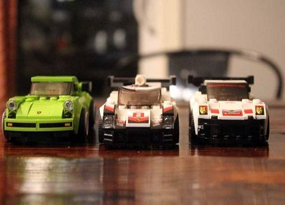 Review: Building The Three New Porsches From LEGO's Speed Champions Series