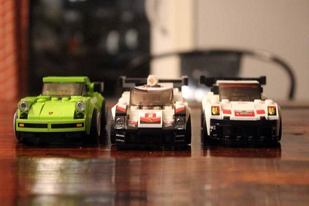 Porsche 918 Spyder For Sale >> Review: Building The Three New Porsches From LEGO's Speed ...