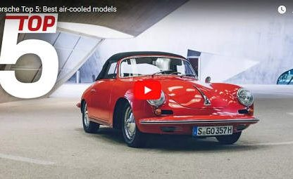 Top 5 Porsche air cooled models and engines