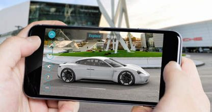 Take an Augmented Reality Walkthrough of the Mission E