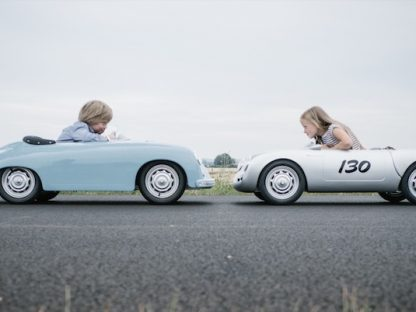 scale model porsche replica 550 and 356 face off