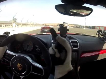 Bad Track Etiquette: McLaren Blocks Cayman GT4