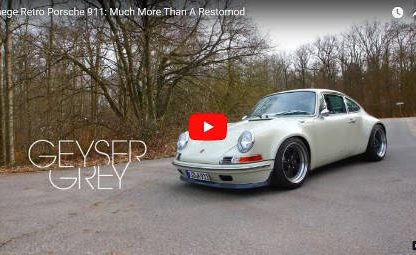 The Kaege Retro Porsche 911: Backdating the 993