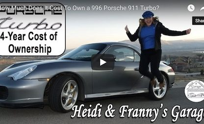 what's it cost to own a Porsche 996 Turbo
