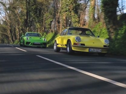 Porsche Brings The Chronology Of RS Models To The Isle Of Man For High Speed Hijinks