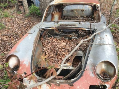 Porsche 356 found in yard north carolina