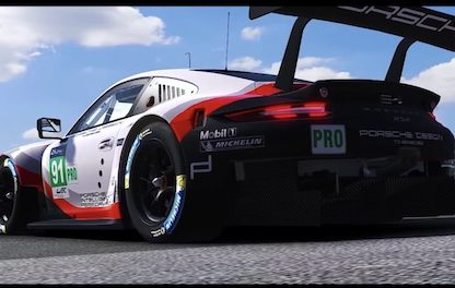 911 RSR Coming to iRacing