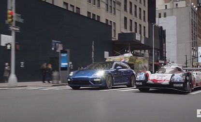 Porsche Pits A 919 Hybrid Against The Mean Streets Of New York City