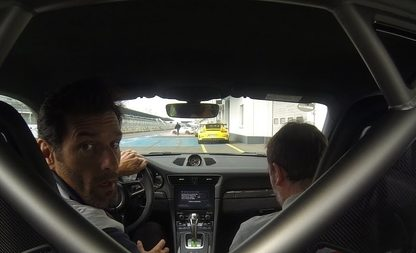 Ride Onboard the 2018 GT3 RS With Mark Webber