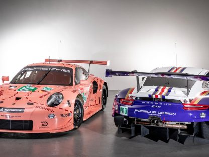 Porsche Pink Pig and Rothmans Livery