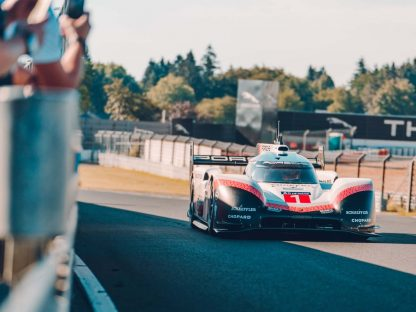 Porsche Has Set A New Outright Lap Record At The Nordschliefe With Its 919 Hybrid Evo