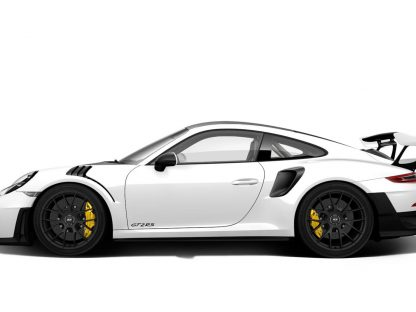 White Porsche GT2 RS Manufacturer Photo