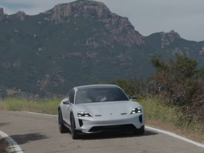 Porsche's Mission E Cross Turismo Concept Driven For The First Time