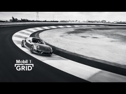 Christina Nielsen and Pat Long Battle on the Skidpad at the Porsche Experience Center