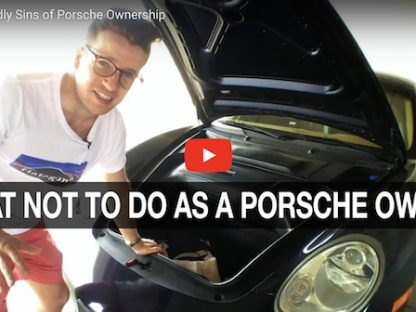 Have You Committed Any of These 7 Deadly Sins of Porsche Ownership?