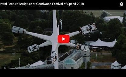 Creating the 2018 Goodwood Festival of Speed Sculpture