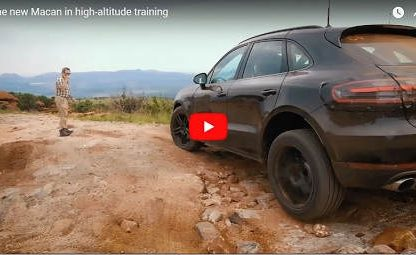 High Altitude Training In Lesotho With The New Macan