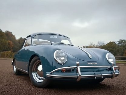 Driving A Porsche 356A Is An Analogue Experience