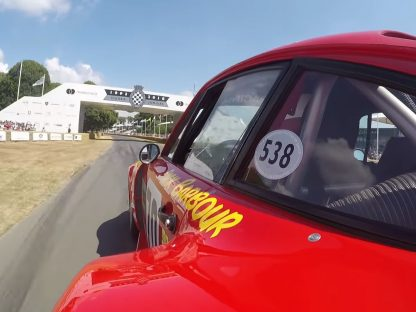 Ride Onboard Adam Carolla's Porsche 935 Up The Hill At Goodwood