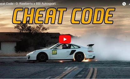 Skateboarding + Drifting GT3 = Absurd but Fun Video