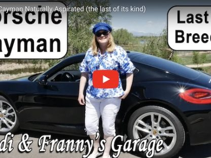 Porsche Cayman Naturally Aspirated (the last of its kind)