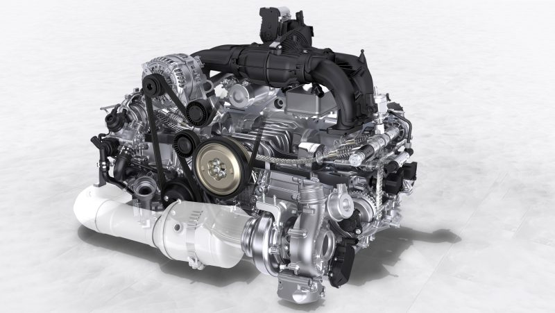 the appeal of the flat engine
