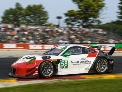 Porsche's Pictures And Results From IMSA At Road America