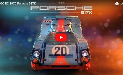 Dream Big: A 1:8 Scale R/C Lego Porsche 917K