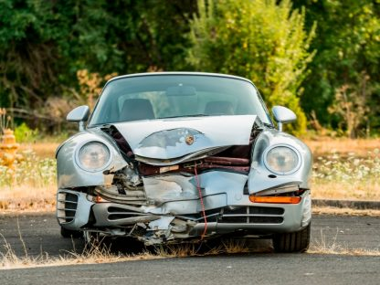 Have You Ever Seen A Wrecked Porsche 959 At A Collector Car Auction?