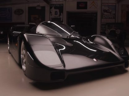 Jay Leno Drives A Unique Schuppan 962CR For The First Time