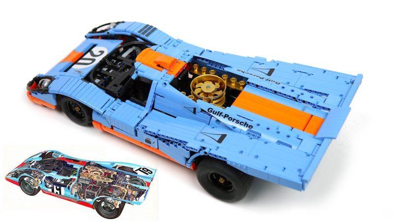 RC Lego Porsche 917 k