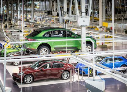 New Macan Production Begins in Leipzig