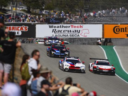 Porsche's Results And Photos From Laguna Seca
