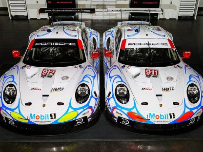 Porsche's GTLM Team Will Run A Throwback 911 GT1 Livery For Petit Le Mans