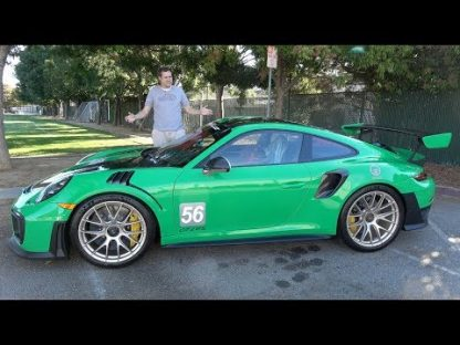 Doug DeMuro Lends His Two Cents on a Garishly Green GT2 RS