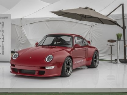 Gunther Werks Unveils Their Newest 993-Based Creation at Rennsport 2018