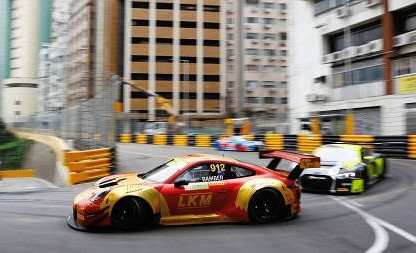Porsche's Results and Pictures from Macau