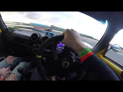 Well-Driven Lotus Struggles to Match GT2 RS Around Silverstone
