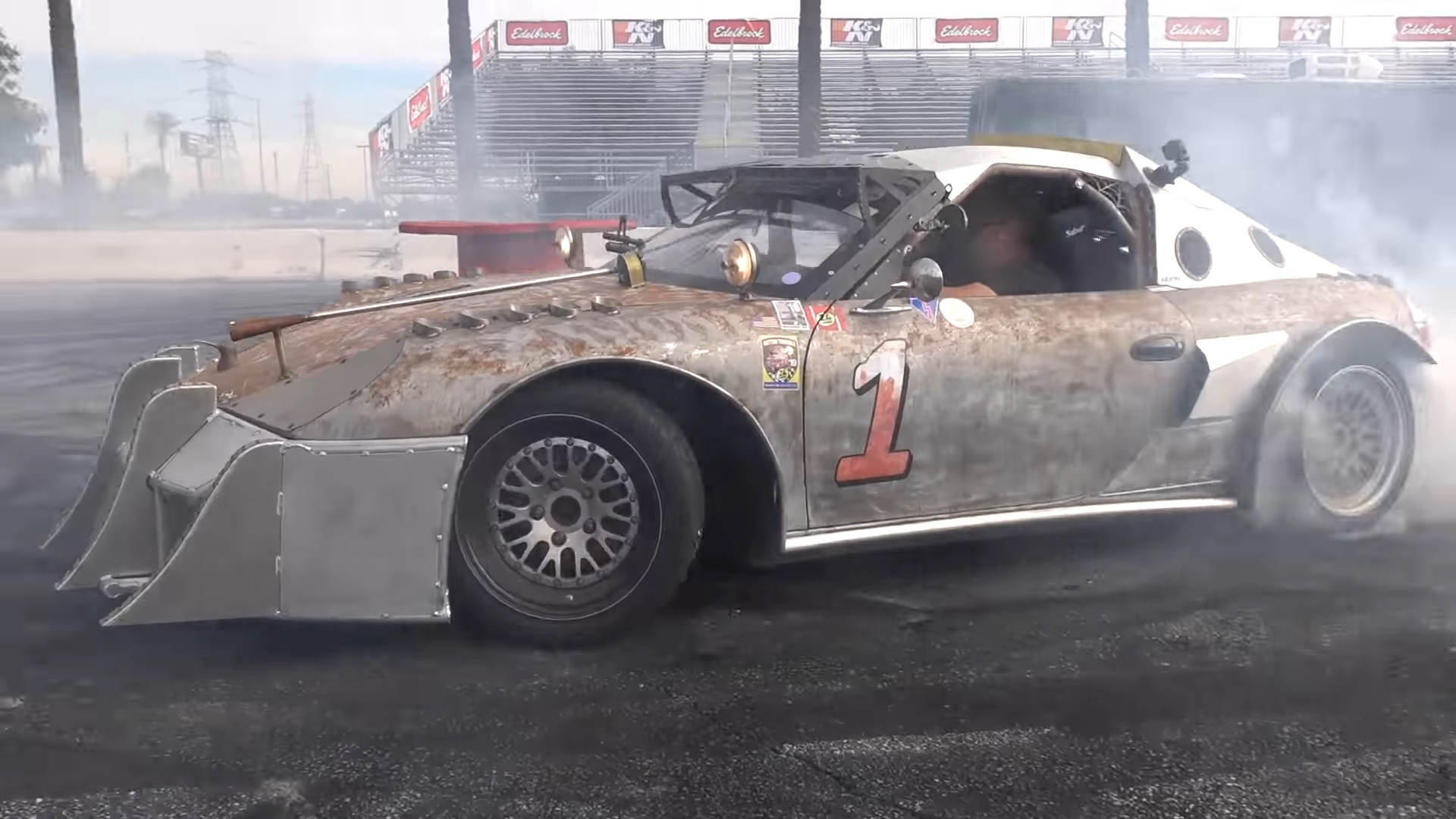 This Porsche Boxster Track Car Is Ready For The Apocalypse