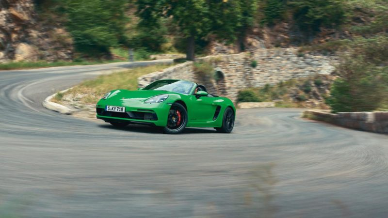 Purists Rejoice! Porsche Puts the Six-Cylinder Back Into the 718 GTS
