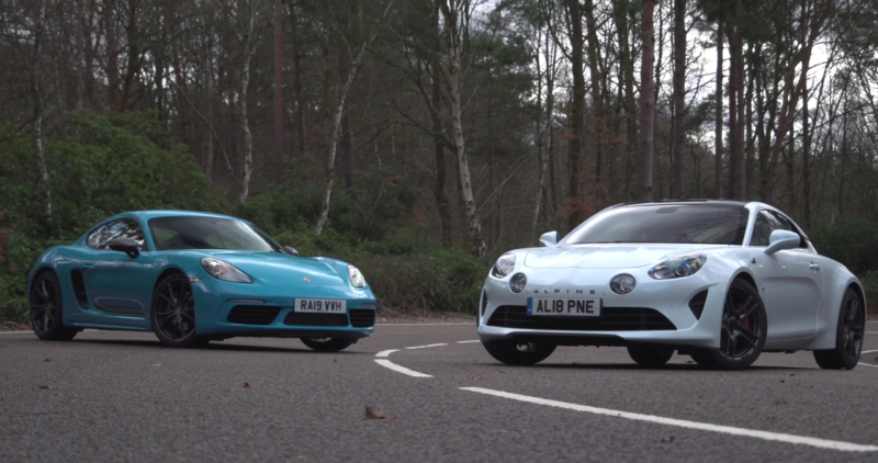 photo of Porsche's 718 Cayman T Takes On Its Closest French Rival image