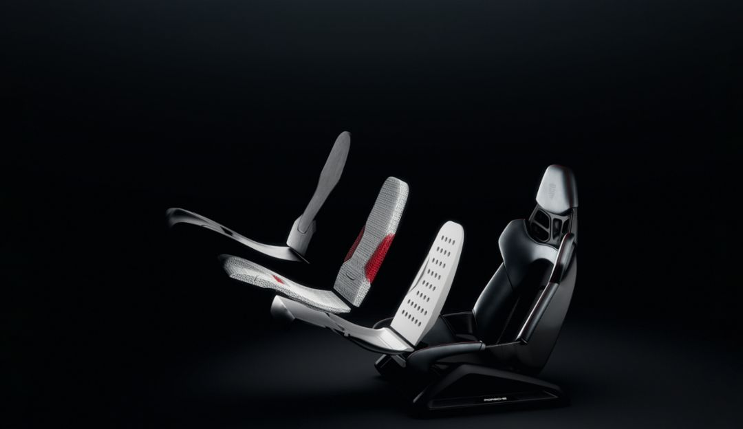 photo of 3D Printed Sport Seats Belong In Your Porsche Of The Future image