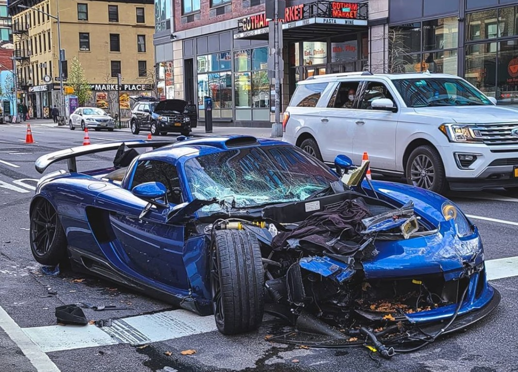 photo of Gemballa-Tuned Porsche Carrera GT Driver Arrested For A Hit-And-Run In New York City image