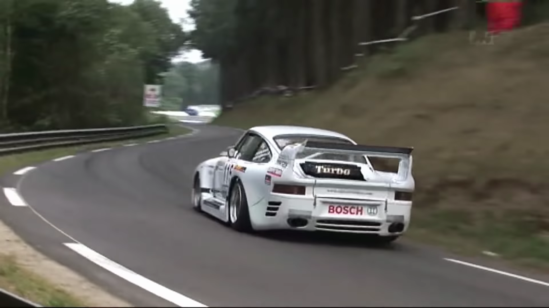 Ever Seen a 959 Running A Hillclimb? Now You Have