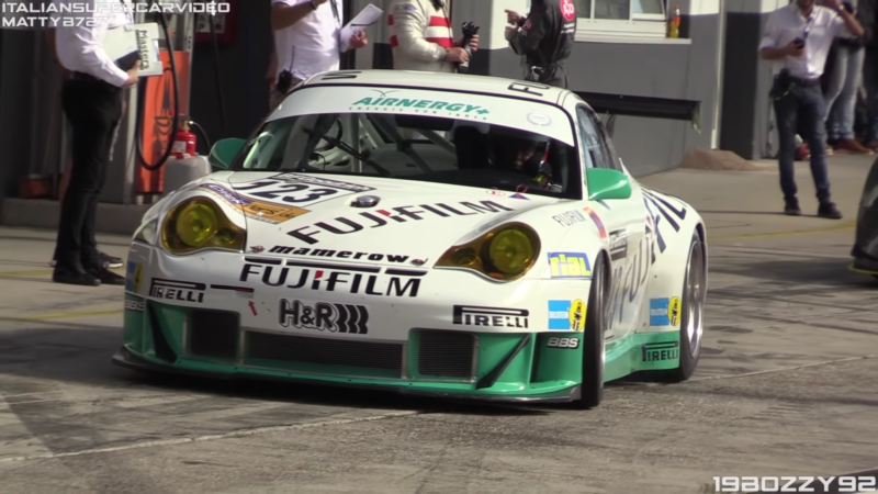 996 GT3 RS(R) Bellows Around Monza, Paul Ricard, and the 'Ring!