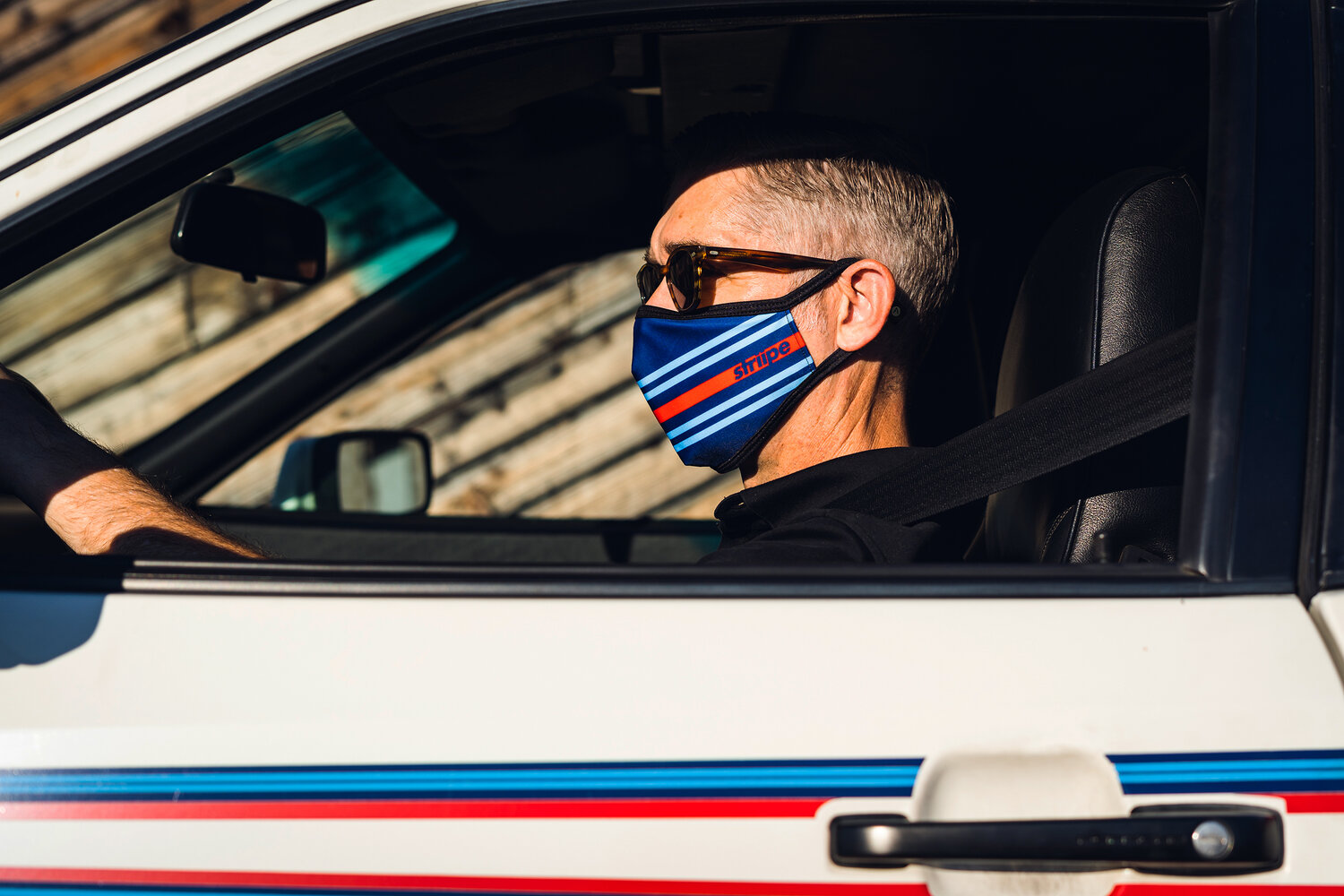 Check Out These Cool Porsche-Inspired Face Coverings