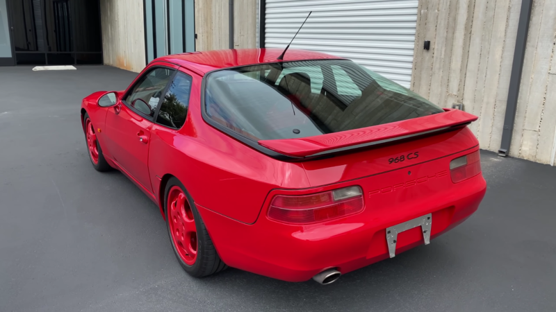 Here's What Makes The Spartan 968 Clubsport A Special Porsche