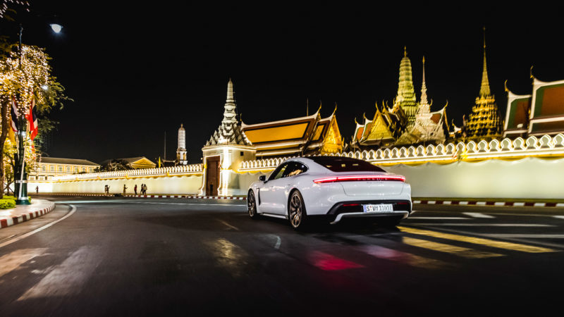 Touring Thailand's Curves in a Taycan Turbo S