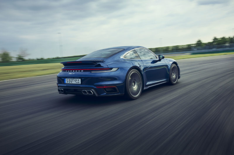 photo of The 572-Horsepower 2021 Porsche 911 Turbo Offers Sportier Options image