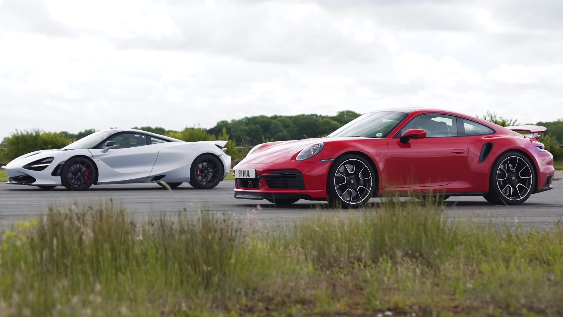 photo of Usurping the Throne: 992 Turbo S Drags McLaren 720S image